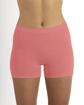 Ladies' panty 4 colours organic cotton with silver knitted fabric only sizes S and M