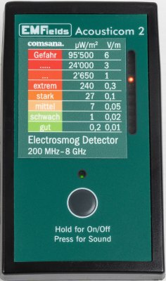 High Frequency EMF radiation measuring device