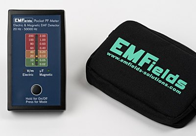 Measuring device EMFields PF5 for low-frequency electric and magnetic fields