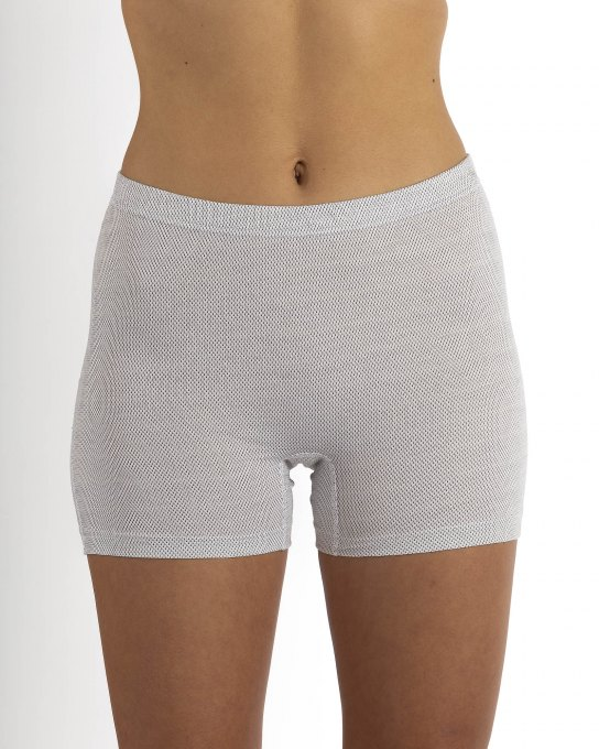 Damen Shorts New Antiwave Silbergestrick