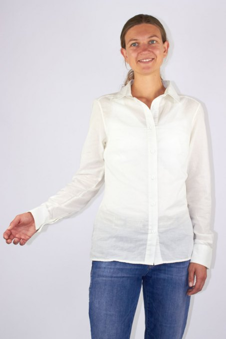 Damen Business Bluse Swiss Shield ULTIMA