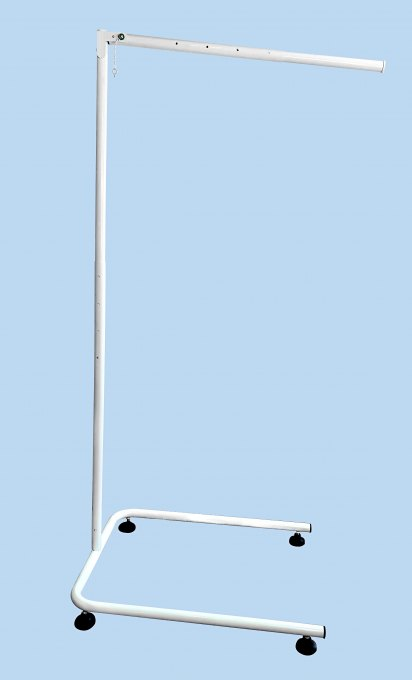 Stand for canopies max. 235x100cm Telescope for canopies to hang on